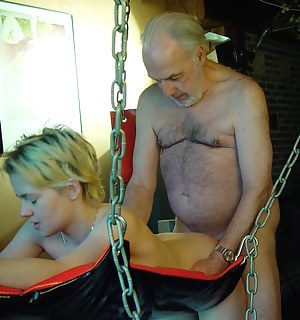 fucking in the sex swing